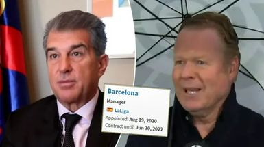 Barcelona extenderá el contrato de Koeman más tarde en 2021 con una condición (fiabilidad: 3 estrellas)