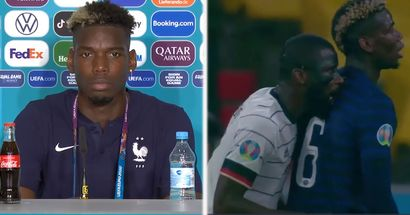'He nibbled a bit on me': Pogba speaks out on Rudiger 'bite' incident