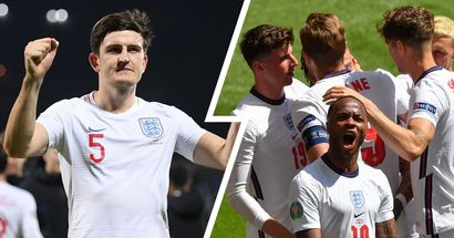Harry Maguire reacts as England begin Euros campaign by beating Croatia