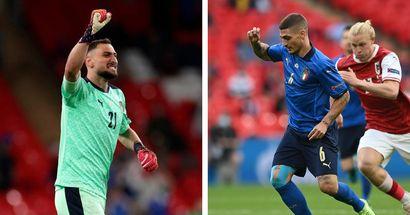 Statistiques de Verratti et Donnarumma: 4 choses à savoir de la victoire de l'Italie sur l'Autriche en 8e de finale de l'Euro