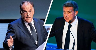 Tebas confirma el acuerdo entre LaLiga y CVC: quedan fuera el Barça, Madrid y otros 2 equipos