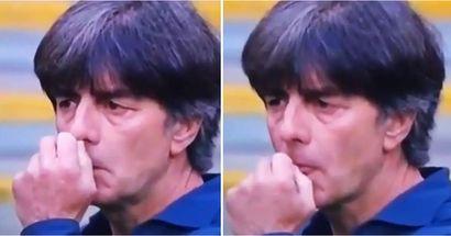 Captado por la cámara: la reacción de Joachim Low cuando se dio cuenta de que Alemania está fuera de la Eurocopa 2020