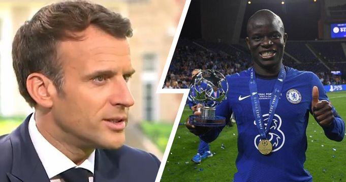 I hope he gets it': President of France Emmanuel Macron backs Kante for  Ballon d'