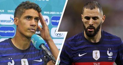 """""""Nous gardons la tête haute"""": Benzema et Varane réagissent à l'élimination de la France de l'Euro 2020"""