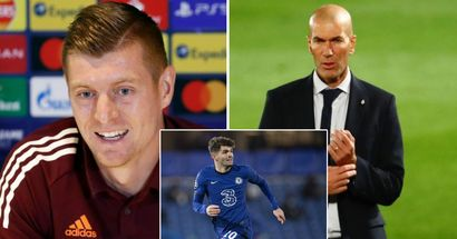 Kroos opens up on Zidane's future and how prepared Madrid are for Chelsea