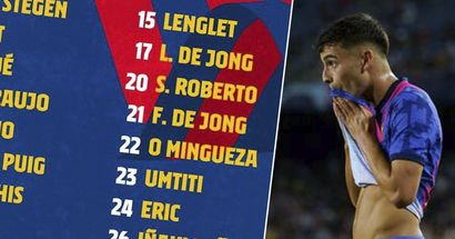 Sin Pedri: el Barça presenta la lista de 20 convocados para el choque ante el Granada