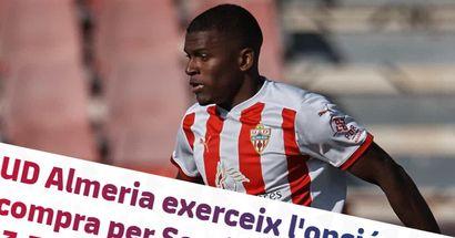 OFFICIEL: le Barça empoche 3,5 millions d'euros alors qu'Almeria active l'option de rachat d'Akieme