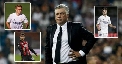 4 unexpected players far from main squad who could  give Carlo Ancelotti options next season
