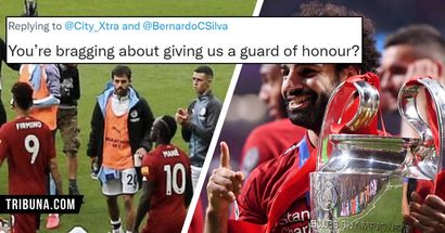 'How many Champions League you've won?': Man City fan recalls Bernardo Silva's disrespectful guard of honour, gets roasted by Reds