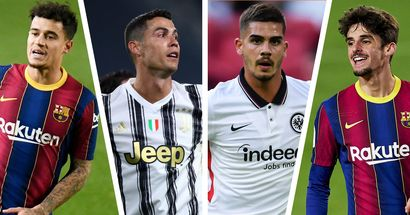 Ronaldo in, Trincao out: 13-name transfer round-up at Barca with probability ratings