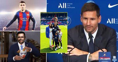 """Leo Messi: """"Barca wollte Veratti holen. Und jetzt komme ich zu ihm nach Paris"""""""
