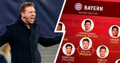 Schwachstellen-Detektor: Bayern-Kader 2021/22 auf einzelnen Positionen