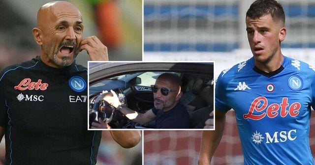 Spalletti e Demme nel mirino dei criminali: rubate le auto dei tesserati del Napoli