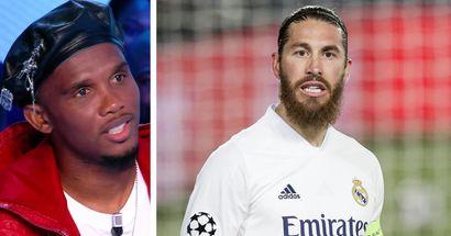 "🗣️ Samuel Eto'o: ""Ce serait bien que Sergio Ramos aille au PSG"""
