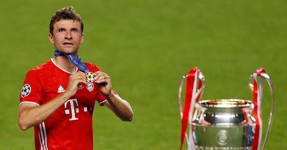 Thomas Müller ist einer der treuesten Spieler Europas: 12 Jahre beim FC Bayern München
