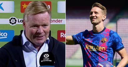 Koeman compares Luuk de Jong to Neymar & 3 more big stories you might've missed