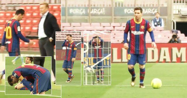 """""""Es hat ihn innerlich getötet"""": Bisher ungesehenes Video von Leo Messis Reaktion auf Barcas entscheidende Niederlage veröffentlicht"""