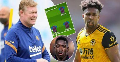 3 formas en que el Barça podría alinearse con Adama Traoré tras los rumores de su posible vuelta