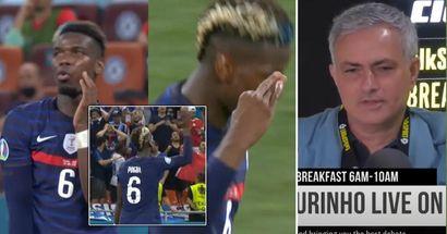 """Mourinho dézingue Pogba: """"Les joueurs se voyaient déjà célébrer sur la Tour Eiffel! Je n'ai pas aimé"""""""