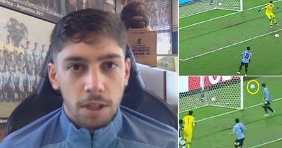 Valverde crée 3 occasions dangereuses pour ses coéquipiers uruguayens, ils les manquent tous