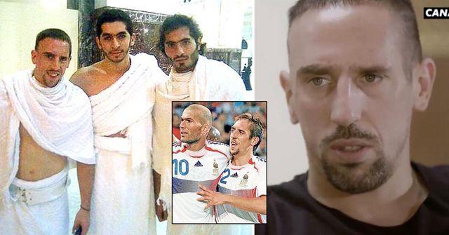 """""""Je suis devenu plus fort"""": La raison pour laquelle la star française Franck Ribéry s'est convertie du christianisme à l'islam"""