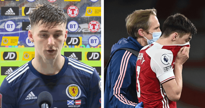 'You can't risk it, not with calves': Kieran Tierney opens up on his injury at Euro 2020