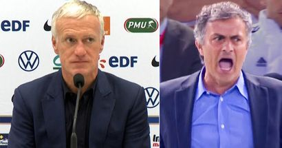 Didier Deschamps brutally trolls Mourinho after Jose's Euro 2020 prediction