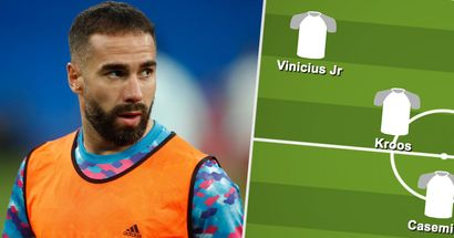Carvajal in: How Real Madrid could line up for October Clasico