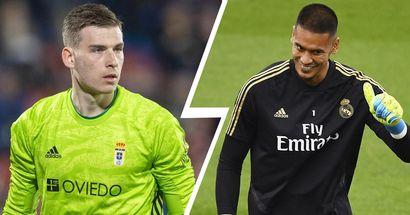 Lunin podría volver al Madrid ante el interés del Arsenal por Areola