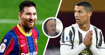 Former Spain boss Del Bosque explains what makes Messi better than Ronaldo