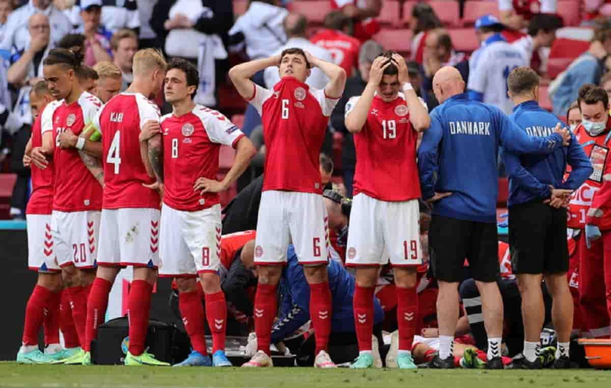 Si gioca subito dopo un infarto in campo, per COVID rinvio di 48 ore,La UEFA sempre più imbarazzante