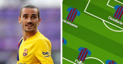 'Starting Griezmann, Dembele and Messi seems so perfect!': Barca fans select ultimate XI for Valladolid