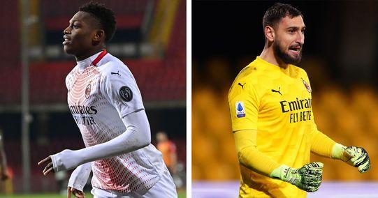 Milan vs Benevento è stata la partita di Leao e Donnarumma: grande prestazione per i due fuoriclasse
