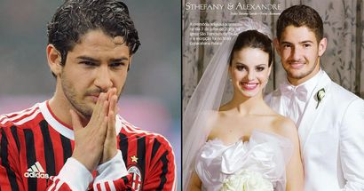 Alexandre Pato's father-in-law: 'He only plays with one ball, not with two. My daughter is still not pregnant'