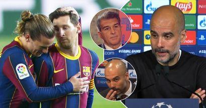 Zu City wechseln? Bei Barca bleiben? Guardiola gibt Messi einen Ratschlag für seine Zukunft