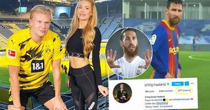¿'Insinuación de una futura transferencia'?: Los mejores futbolistas que Erling Haaland sigue en Instagram