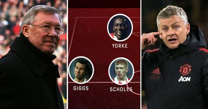 Man United's current XI against the '99 Treble Winners: Can Ole's side match up against Sir Alex's best?