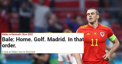 """""""Vous devriez avoir honte"""": les fans de Madrid furieux contre Marca pour le titre scandaleux sur Bale après la défaite contre Danemark"""