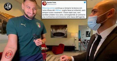 """""""Dovevi comportarti da professionista!"""": i tifosi del Milan non si fan incantare dall'ultimo 'teatrino' di Donnarumma"""