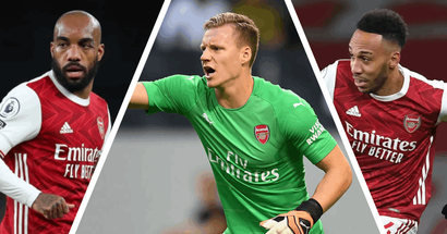Laca, Auba, Leno and 15 more Gunners who enter their final 12-24 months of contract from 1 July