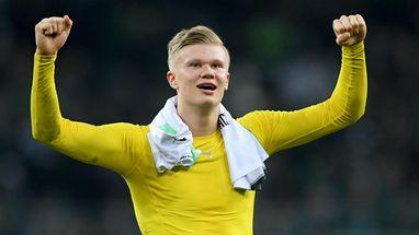 """Erling Haaland ist für """"Rookie der Bundesliga-Saison"""" nominiert"""