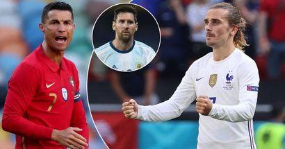 Griezmann devient le joueur avec le plus de buts dans un tournoi international majeur en 15 ans, il dépasse Ronaldo