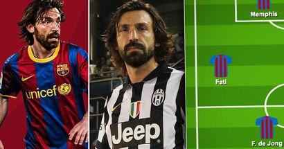Enthüllt: Wie Barcelonas Startelf unter Andrea Pirlo aussehen könnte