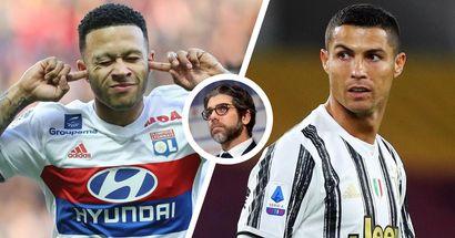 """""""Depay si crede Ronaldo"""": Juninho Pernambucano ridimensiona l'attaccante finito nel mirino della Juve"""