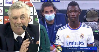 Ancelotti nombra la cualidad de Camavinga que lo 'sorprendió'