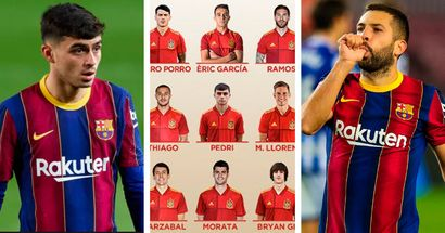 Pedri receives first-ever Spain call-up, Alba recalled too