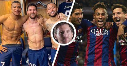 Leo Messi erklärt, wie sich Messi-Mbappe-Neymar vom legendären Barca-Trio MSN unterscheidet