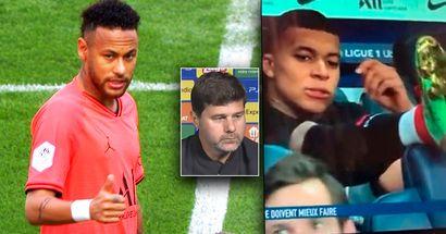 Pochettino explica cómo está la situación entre Neymar y Mbappé