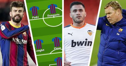 Barcelona's XI vs Valencia's likely XI: which area will decide the outcome of the game