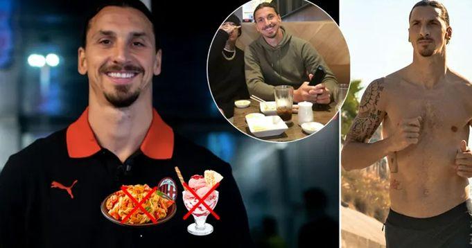 Niente pasta, gelato vietato: la dieta di Zlatan Ibrahimovic che lo tiene in forma a 39 anni